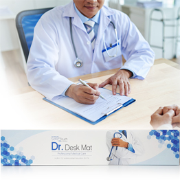 Safe+ Touch Doctor Anti-pathogenic Desk Mat / Desk Desk Pad Non-slip 99.9% Antibacterial Hospital Nursing Home Postpartum Care Center